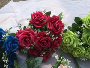 Decorative Artificial Flowers of Mountain Rose pictures & photos