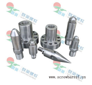 Screw and Barrel Assembly Parts for Injection Moulding Machine (QY-L034)