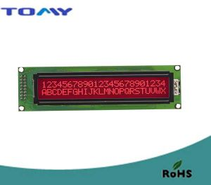 24X2 Character LCD Display with RoHS pictures & photos