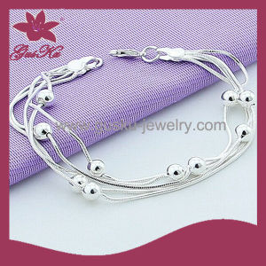 2015 Cpb-001 The Latest Design Fashion Jewelry Pure Silver Bracelet pictures & photos
