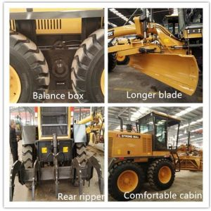 Py220 Gr215 Cut Blade 4356mm Road Grader 16.5tons Motor Grader for Sale pictures & photos