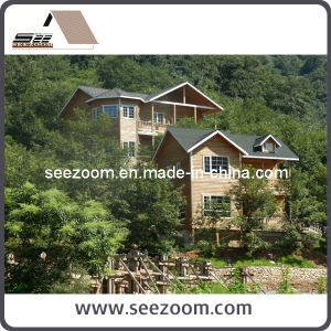 Popular Prefabricated Light Steel Framed House for Mountains / Seaside