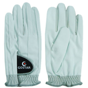 2015 New Style PU Synthetic Leather All Weather Golf Glove (PGL-51) pictures & photos