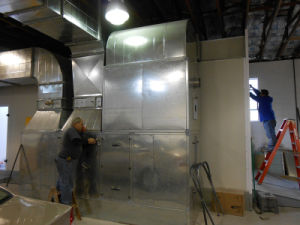 Water Based Btd Paint Spray Booth Design pictures & photos