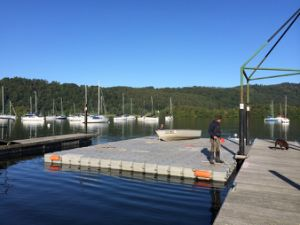 Float Dock Pontoon, Floating Pontoon Dock pictures & photos
