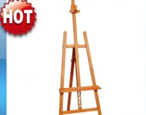 Wooden Folding Easel Wooden Standing Easel for Canvas Mount
