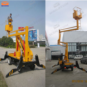 Self-Propelled Articulated Boom Lift pictures & photos