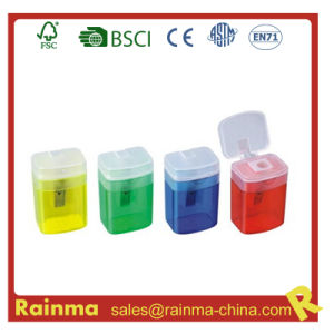 Plastic Square Shaped Pencil Sharpener pictures & photos