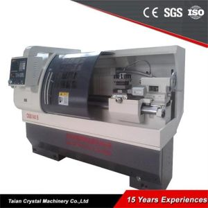 Low Cost CNC Metal Cutting Lathe Machine (CK6140B) pictures & photos
