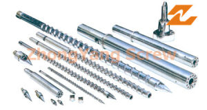 Plastic Machinery Bimetallic Conical Twin Screw Barrel Zytc pictures & photos