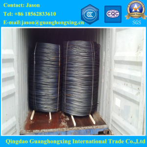 GB08f, 10#, 15#, SAE 1008, ASTM1010, ASTM1015 Hot Rolled Steel Wire Rod pictures & photos