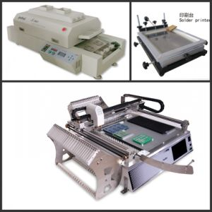 Production Line, Pick and Place Machine+ Printer+ Reflow Oven T960 pictures & photos