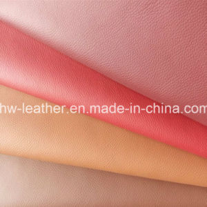 Microfiber PU Leather for Car Seat, Furniture, Shoes (HW-1269) pictures & photos