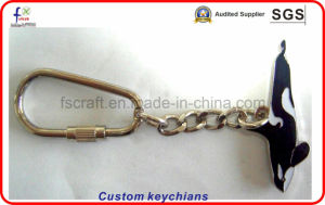 Custom Souvenir Metal Keychains Keyrings pictures & photos