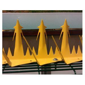 Galvanized Razor Wall Spike /Security Wall Spike for Protecting pictures & photos
