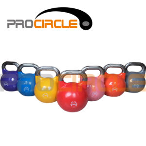 Crossfit Sporting Goods Painted Colorful Steel Kettlebell (PC-KD1033-1043) pictures & photos