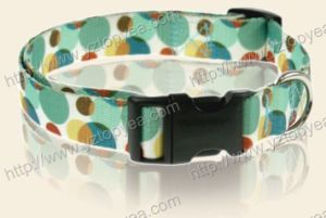Printed Nylon Dog Collar and Leash, Pet Collar (YD110) pictures & photos