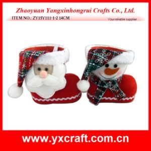 Christmas Decoration (ZY14Y26-3-4) Xmas Gift Ornament Boots pictures & photos