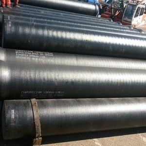 ISO2531 Cement Lined Ductile Cast Iron Pipes K9 for Potable Water pictures & photos