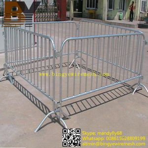 High Quality Galvanized Traffic Control Barrier pictures & photos