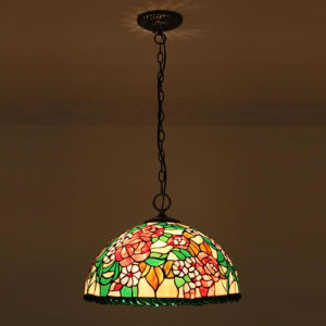 Fashionable Popular Tiffany Pendant Lamp for Five Star Hotel (XP16025)
