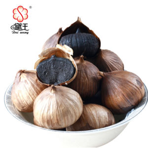 High Quality Single Clove Black Garlic Made of China 700g/Bag pictures & photos
