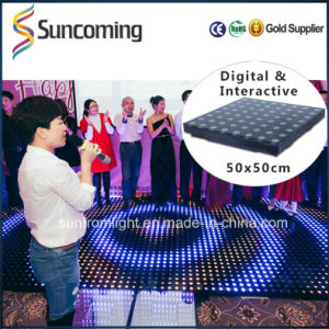 Great Proformance Programable Interactive Dance Floor LED pictures & photos