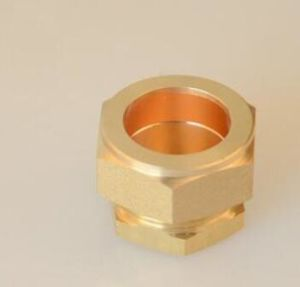 Brass Compression Copper Fittings for Copper Pipe Fittings pictures & photos
