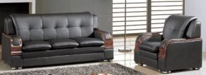 Strap Buttermilk Skin Top Grain Classic 100% Pure Leather Sofa pictures & photos