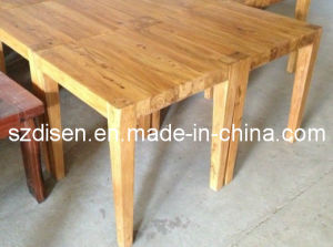 Wooden Dining Table (DS-WT39) pictures & photos