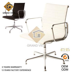 White Leather Eames Computer Chair (GV-EA108) pictures & photos