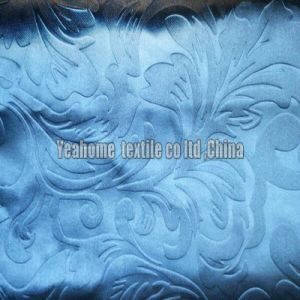 Blackout Fiber Fabric with Embossed for Curtain