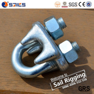 G450 Steel Galvanized Drop Forged US Type Wire Rope Clip pictures & photos