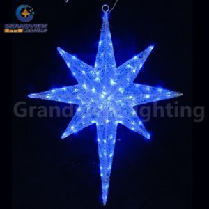 Outdoor Decoration Christmas Ornament LED String Star Light for Holiday Decoration with CE RoHS pictures & photos