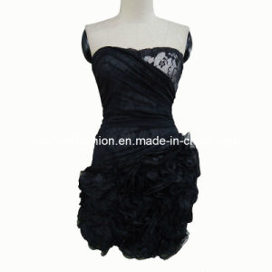 Organza Beauty Fashionable Prom Dress (XYD-034)