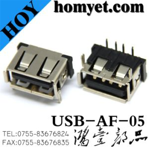 USB Female Connector for Digital Products (USB-AF-05) pictures & photos
