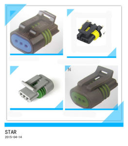 Manufacturer Custom Electrical 3 P AMP Waterproof Connector pictures & photos