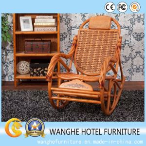 Rattan Furniture Garden Wicker Rocking Chaise Lounger pictures & photos