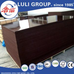 Good Quality Two Time Finsih Film Faced Plywood From Luli pictures & photos