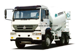 China Brand 6-10m3 Concrete Mixer Truck