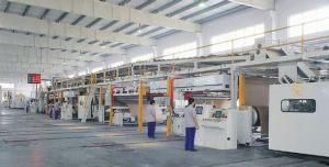 Automatic 3/5/7 Ply Corrugated Paperboard Production Line
