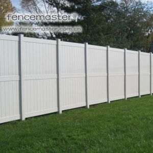 Vinyl Fence with No Visible Fasteners pictures & photos