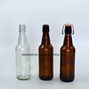 750cc Glass Swing Cap Amber Beer Bottle pictures & photos