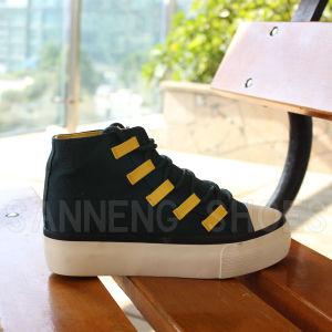 Ladies Top-Cut Casual Canvas Shoes (SNC-02066) pictures & photos