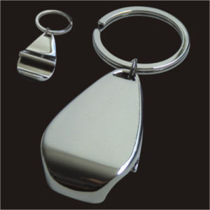Metal Keychain with Bottle Opener pictures & photos