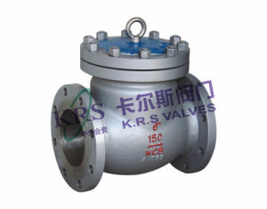 API Cast Steel Swing Type Check Valve (H44H/Y) pictures & photos