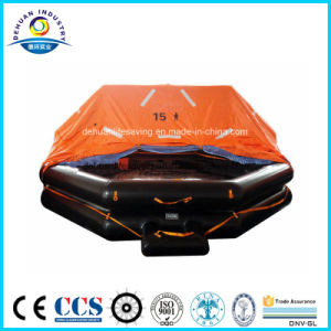 Inflatable Liferaft Throw-Over Type