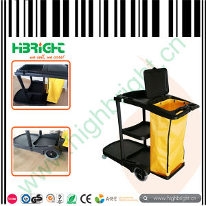 Hotel Cleaning Service Trolley Cart pictures & photos