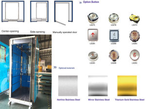 Good Decoration Passenger Elevator with Competitive Price pictures & photos