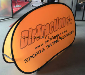 Custom Fabric Printed Promotional Attractive Spring Stainless Steel Outdoor Exhibition a-Frame Golf Sports Advertising Pop up out Flag Banner Display Sign Flag pictures & photos